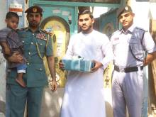Ajman Police reunite boy with his family