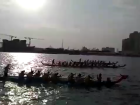 Dragon boat race at fitness carnival