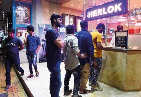 inema halls of old days are fighting to survive