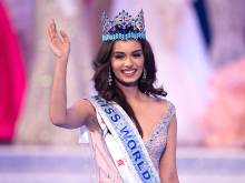 India's Manushi Chhillar crowned Miss World