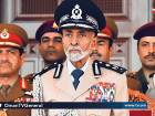 Sultan Qaboos at the military parade to mark Oman's 47th National Day in Seeb province.