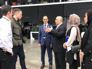 Look: Tesla's Musk meets RTA's Al Tayer