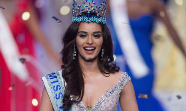 Pictures: Manushi Chhillar crowned Miss World
