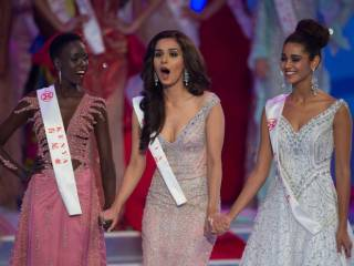 'Oops' moment at Miss World?