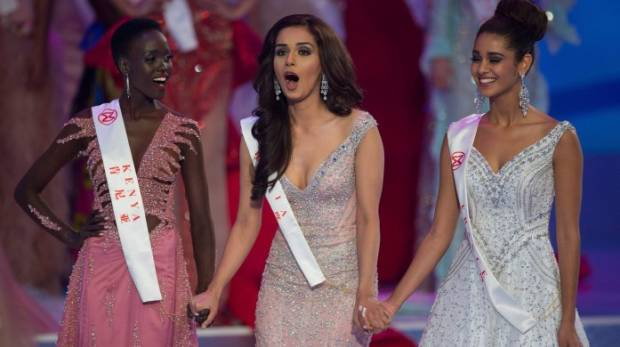 oops' moment at miss world pageant? | gulfnews