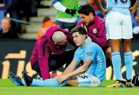 No blame for Stones blow, says Guardiola