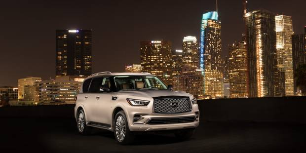 Colossus of comfort: The 2018 Infiniti QX80