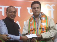 Rahul Roy joins politics, signs up with BJP