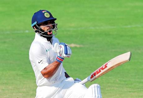 It hasn't been a long journey yet, Kohli says
