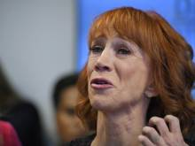 Kathy Griffin says she is on a 'blacklist'