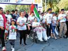 The Unity Run, which had participants from across generations, nationalities and abilities, was held in Dubai Silicon Oasis.