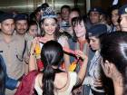 Manushi Chhillar gets glorious welcome home