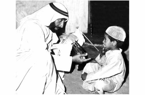 In the footsteps of Shaikh Zayed