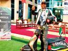 Expat rides scooter 1,000km across UAE