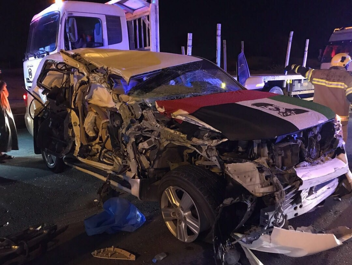The accident took place on a road between the Sharjah and Umm Al Quwain