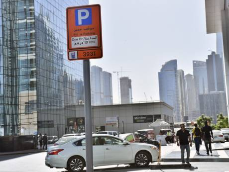 Paid parking activated in dubais jlt gulfnews paid parking activated in dubais jlt reheart