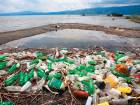 Plastic garbage on a beach. The UN estimates the number of plastic bottles in the world will grow to 583 billion by 2021.