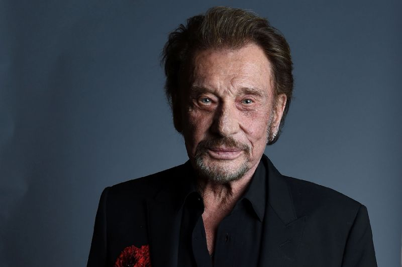 Johnny Hallyday, France's best-known rocker died aged 74 after a battle with lung cancer, wife Laeti