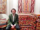 A traditional carpet woven with social history
