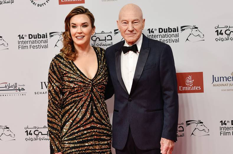 sir-patrick-stewart-and-wife-sunny-ozell-walk-the-red-carpet-on-the-opening-night-of-diff