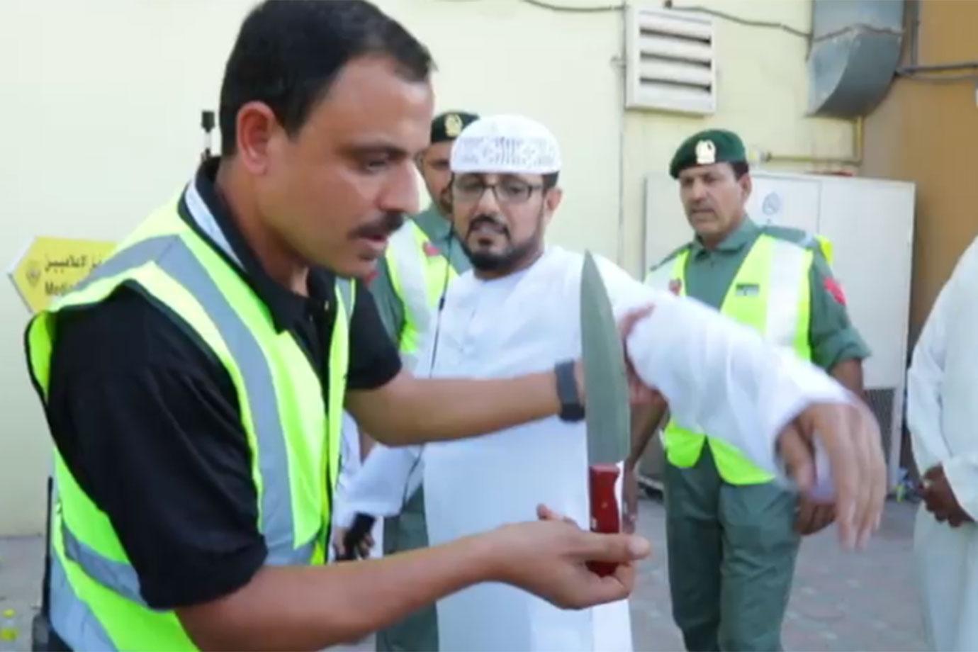 White weapons in UAE