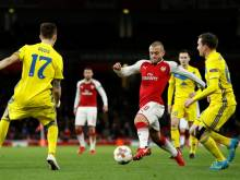 Relief for Wilshere as Arsenal thrash BATE