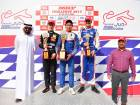 Brazilian driver Felipe Drugovich entended his lead in the championship while taking a win and second place in Round Two of the MRF Challenge 2017 held at the Dubai Autodrome.