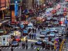 Blast rocks New York commuter hub