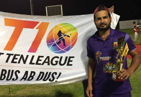 T10 star cricketers reach out to communities