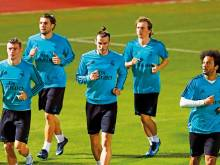 Real Madrid get down to business