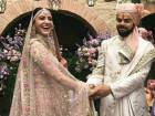 Pictures: Virat, Anushka wed in Italy