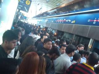 Dubai Metro commuters stranded as trains stop