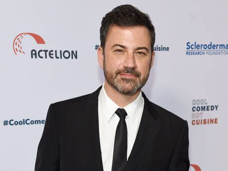 Jimmy Kimmel Holds Son Pleads For Health Care Gulfnews Com