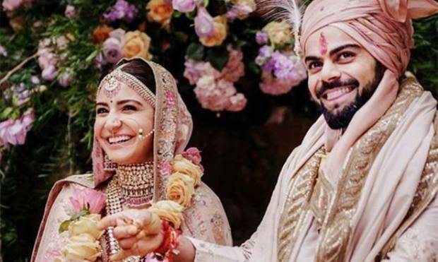 Virat Kohli and Anushka Sharma marriage