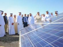 Dewa inaugurates first solar poultry farm