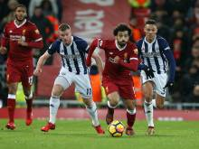 Liverpool drop points against West Brom