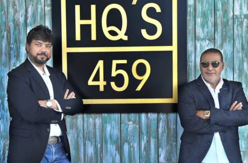 Dubai restaurant HQ'S 459: Brothers in arms