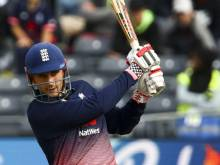 Hales follows father's footsteps to hit sixes