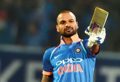 Dhawan downs Sri Lanka to clinch ODI series