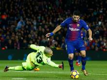 Barca go 11 points clear of absent Real Madrid