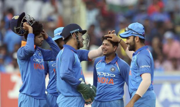 Pictures: India clinch ODI series against Lanka
