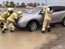 Watch: Civil defence rescue motorists
