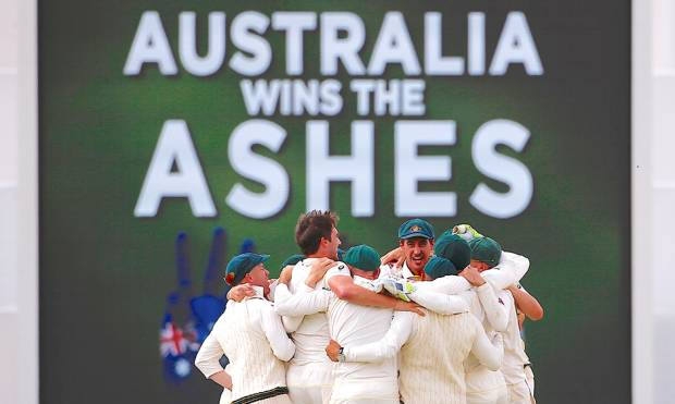 Pictures: Australia beat England, reclaim Ashes