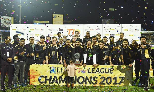Pictures: Kerala Kings win T10 Cricket League