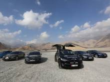 Electric vehicles' trip across UAE and Oman