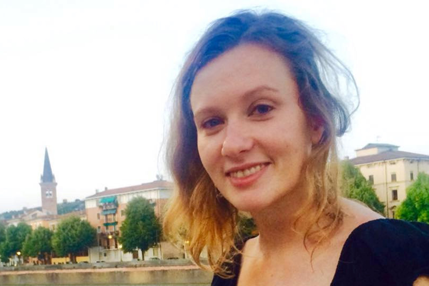 Rebecca Dykes, who worked at the British Embassy in Beirut.