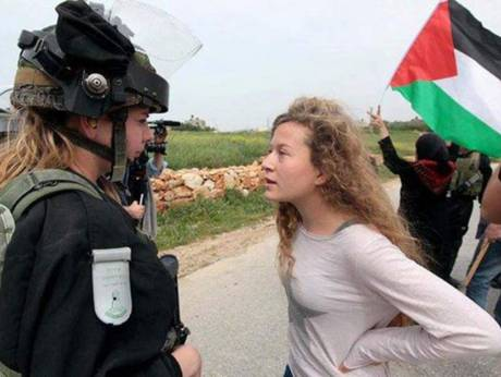 Ahed Tamimi, warrior