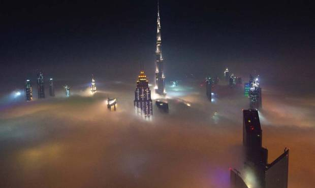 Pictures: Fog covers parts of UAE
