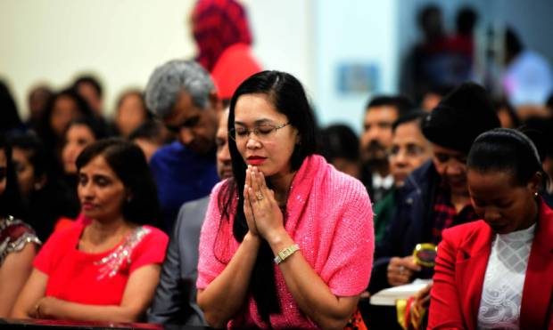 Christians throng UAE churches for midnight mass