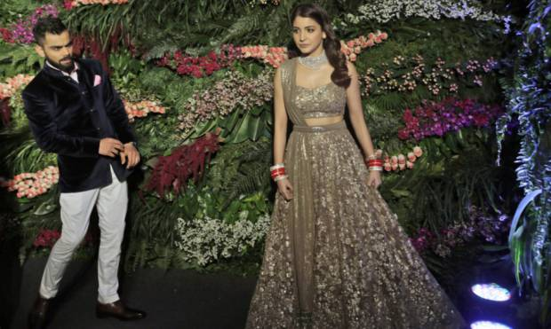 Virushka's star-studded reception in Mumbai